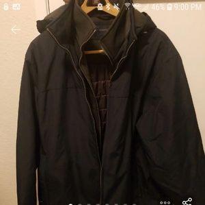 Weatherproof winter jacket